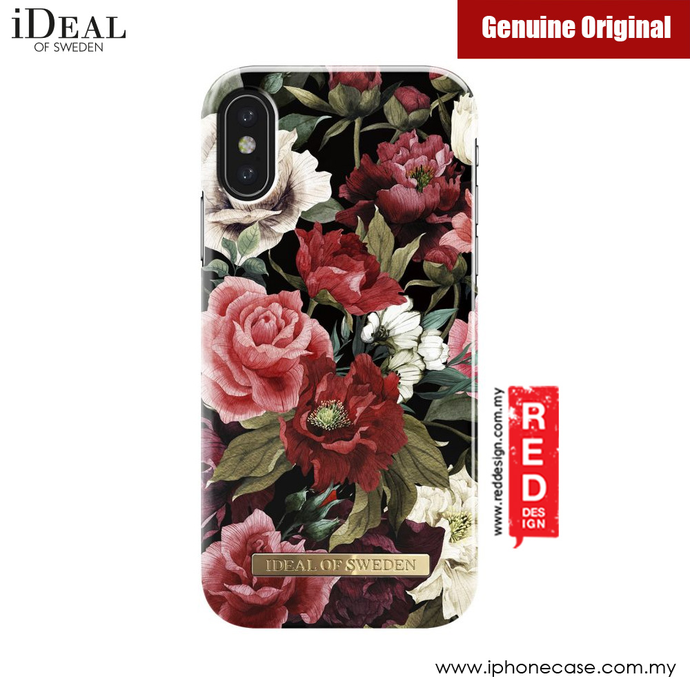 check out 563ff f1d36 iDeal of Sweden Fashion Case for Apple iPhone X (Antique Roses)