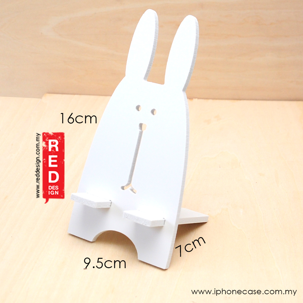 Picture of Plastic Wood Mobile Phone Lazy Tablet iPad Shelf Creative Desktop Mobile Phone Holder (Rabbit)