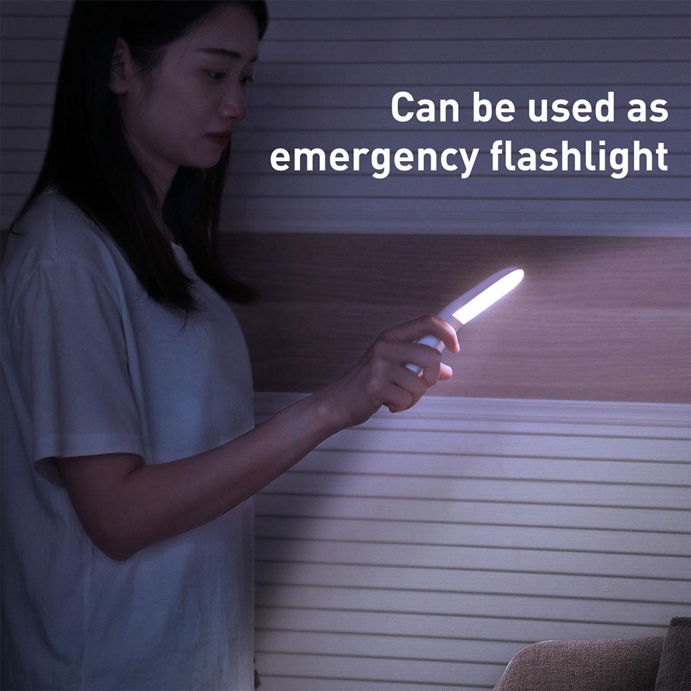 Picture of Baseus Sunshine series human body Induction aisle light corner light portable light yellow light bathroom light storeroom light bedroom light portable flash light motion detect light (Natural light 4000K)