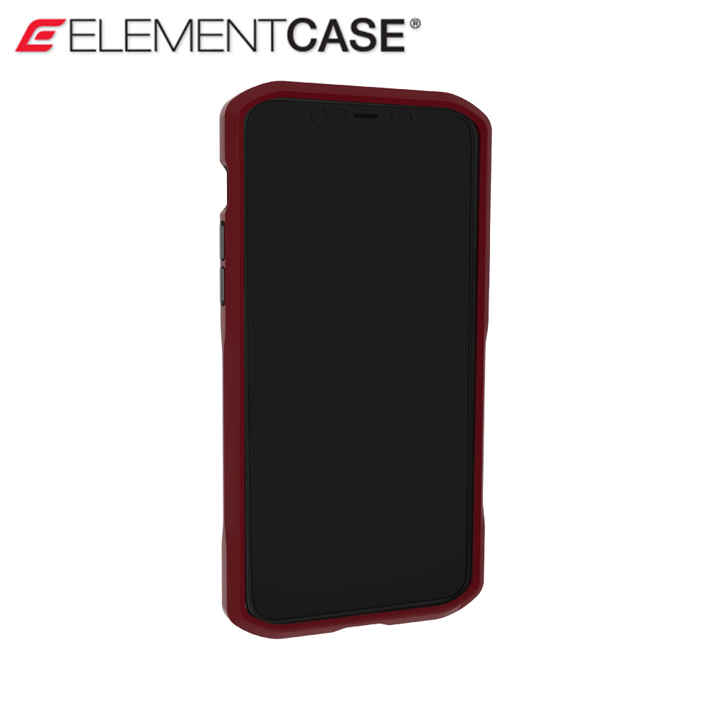 Picture of Apple iPhone 11 Pro Max 6.5 Case | Element Case Shadow Series Drop Protection Case for iPhone 11 Pro Max 6.5 (Oxblood)