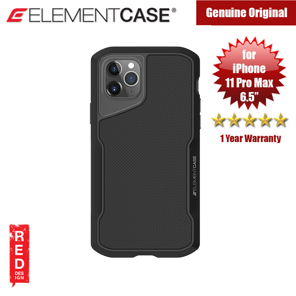 Picture of Apple iPhone 11 Pro Max 6.5 Case | Element Case Shadow Series Drop Protection Case for iPhone 11 Pro Max 6.5 (Black)