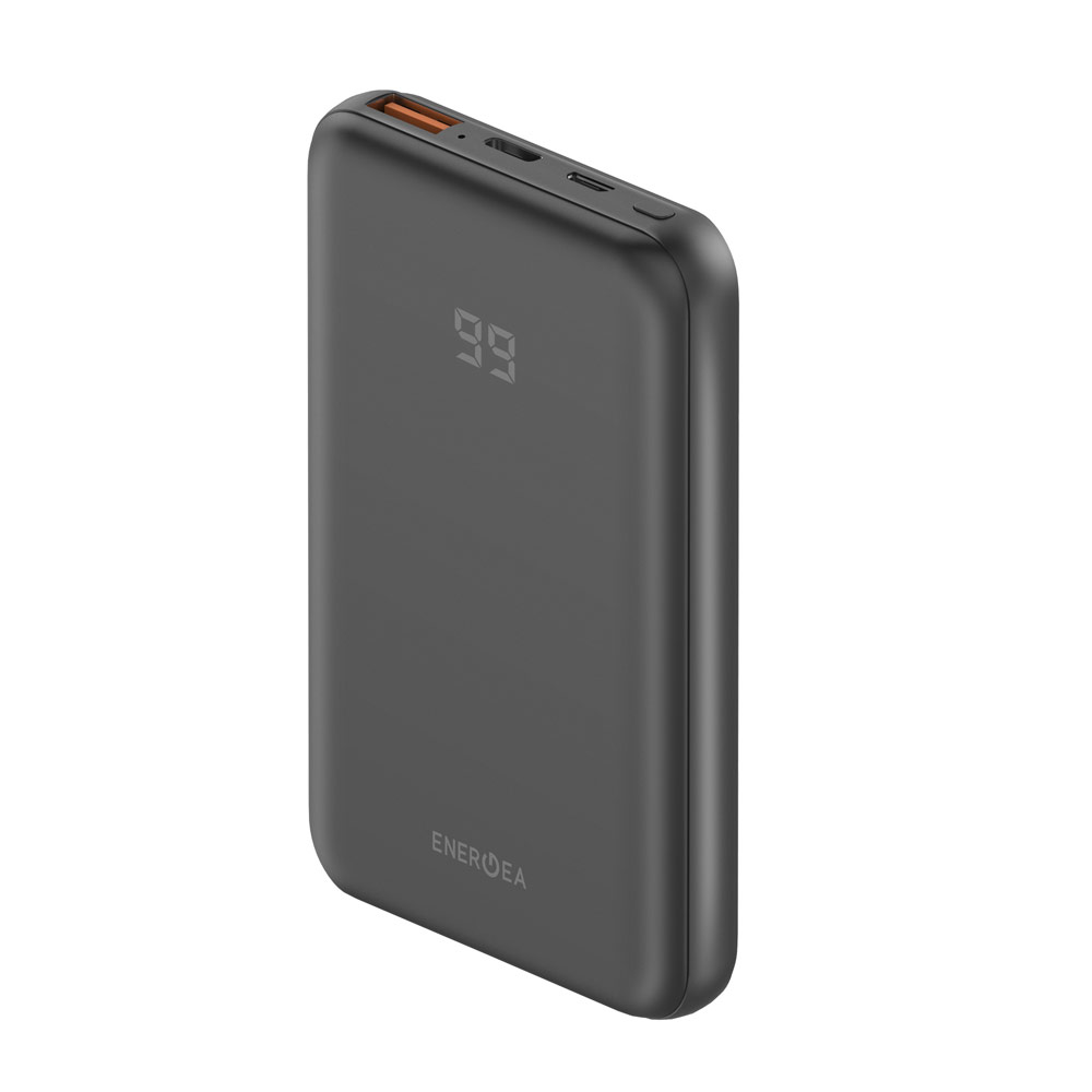 Picture of Energea Slim and Sleek Design Slim Universal Power Bank 10000mAh PD18W support PD3 QC4 VOOC SCP PPS 25W Huawei Samsung iPhone Airpods Pro Apple Watch Series 4 5 6 SE