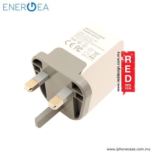 Picture of Energea AMPCHARGE DUO USB Wall Charger 3.4A - White