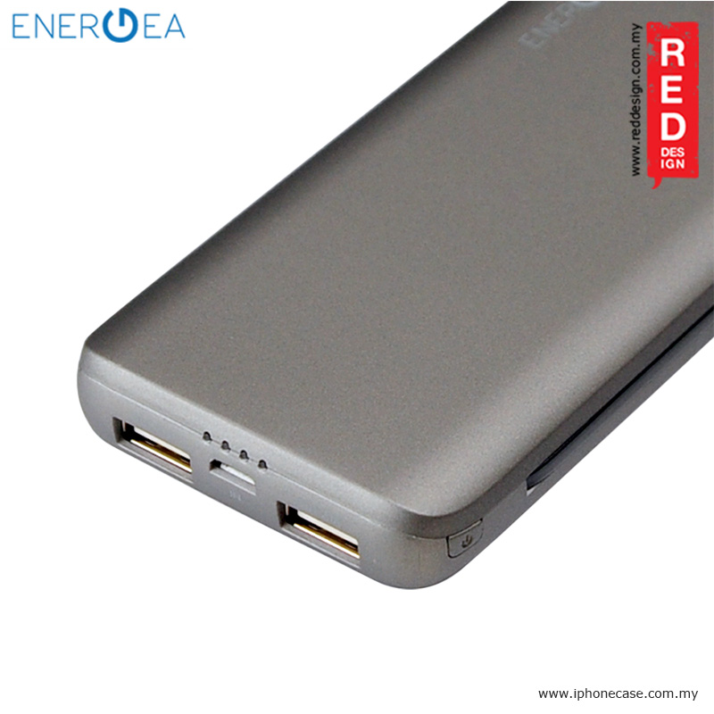 Picture of Energea Integra 7000i Power Bank with MFI Integrated Lightning and Tyce C Cable - Space Grey
