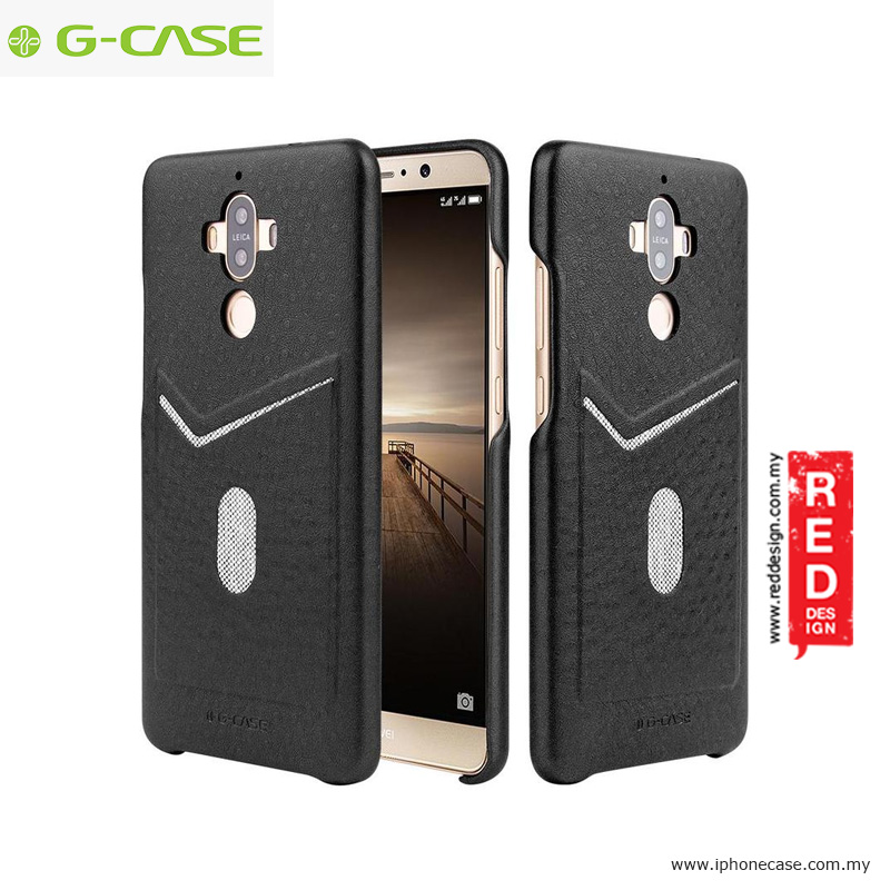 Picture of Huawei Mate 9 Case | Gcase Jazz Series Card Slot Back Case for Huawei Mate 9 - Black
