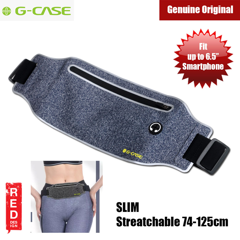 Picture of Gcase Niki Series Sport Waist Bag Compatible with Samsung Galaxy Note 9 Huawei Mate 20 Pro iPhone XR XS XS Max (Blue)