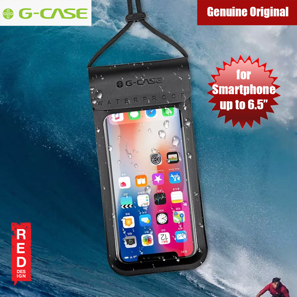 official photos d553e 68d70 Gcase Niki Series Waterproof Bag for Apple iPhone XS Max XR Huawei Mate 20  Pro Samsung Note 9 or up to 6.5 inches (Black)