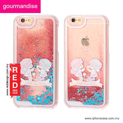 new concept f1eab bca01 Gourmandise Glitter Flow Hello Kitty Case for iPhone 6 iPhone 6S 4.7 -  Little Twin Star