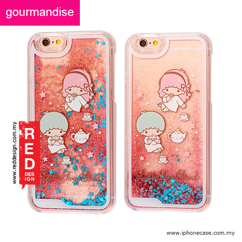 various colors 45a54 91a68 Gourmandise Glitter Flow Hello Kitty Case for iPhone 6 iPhone 6S 4.7 -  Little Twin Star Tea Time