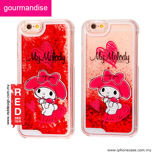 newest 36a7c 8f448 Gourmandise Glitter Flow Hello Kitty Case for iPhone 6 iPhone 6S 4.7 - My  Melody