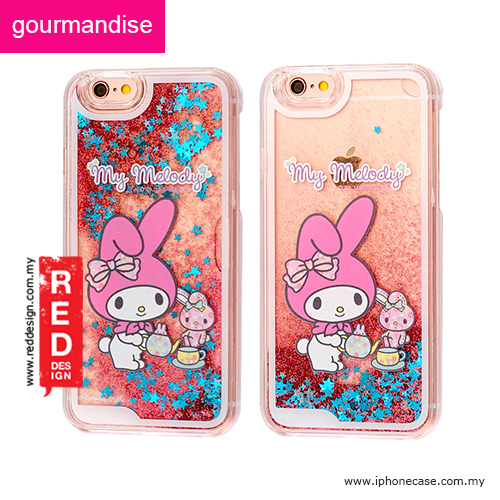 new concept 0e8b6 a8a15 Gourmandise Glitter Flow Hello Kitty Case for iPhone 6 iPhone 6S 4.7 - My  Melody Tea Time