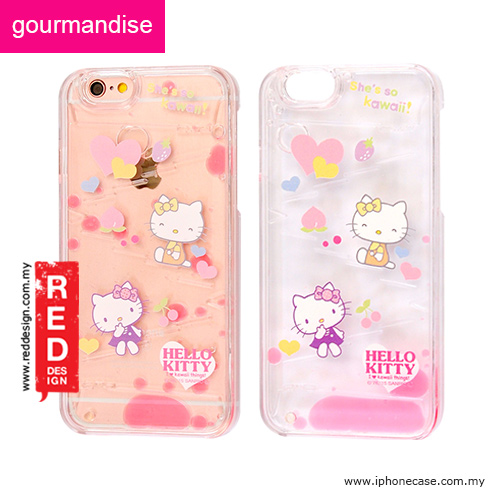 finest selection 8edfd e3ac3 Gourmandise Liquid Flow Hello Kitty Case for iPhone 6 iPhone 6S 4.7 - Hello  Kitty Colors