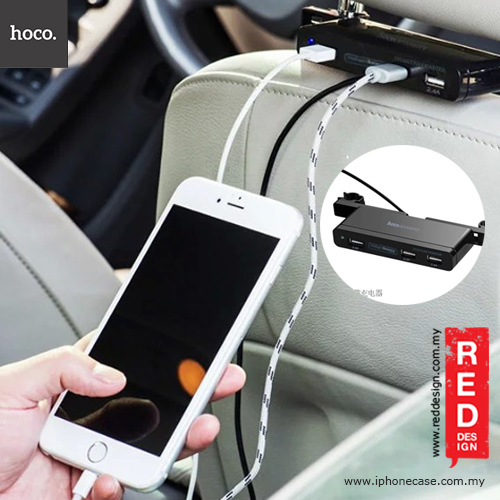 Picture Of Hoco 5 Port Usb Multiple Penger Car Charger