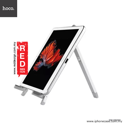 Picture of Hoco Tabletop Metal iPad Mini iPad Air Tablet Stand Holder - Silver