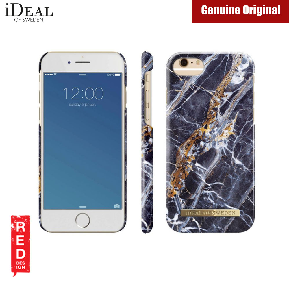 half off fd79c d8cdd iDeal of Sweden Fashion Case for Apple iPhone 6S iPhone 7 iPhone 8  (Midnight Blue Marble)