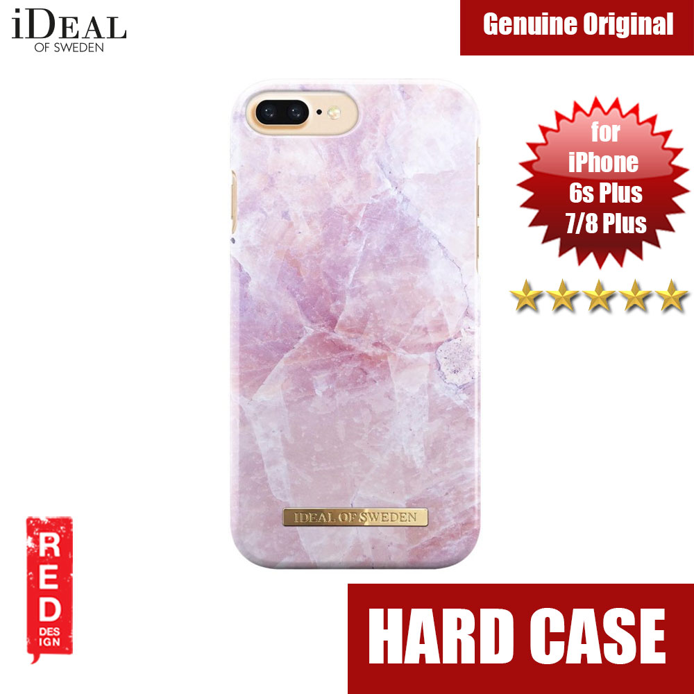 check out 7b16a 123f4 iDeal of Sweden Fashion Case for Apple iPhone 6S Plus iPhone 7 Plus iPhone  8 Plus (Pillion Pink Marble)
