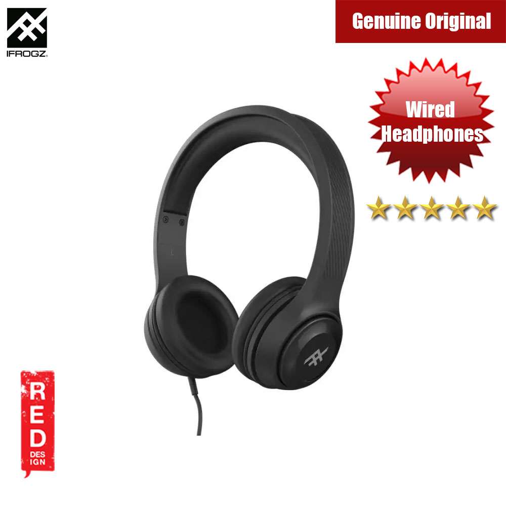 Picture of iFrogz Aurora Wired On Ear Headphone (Black)