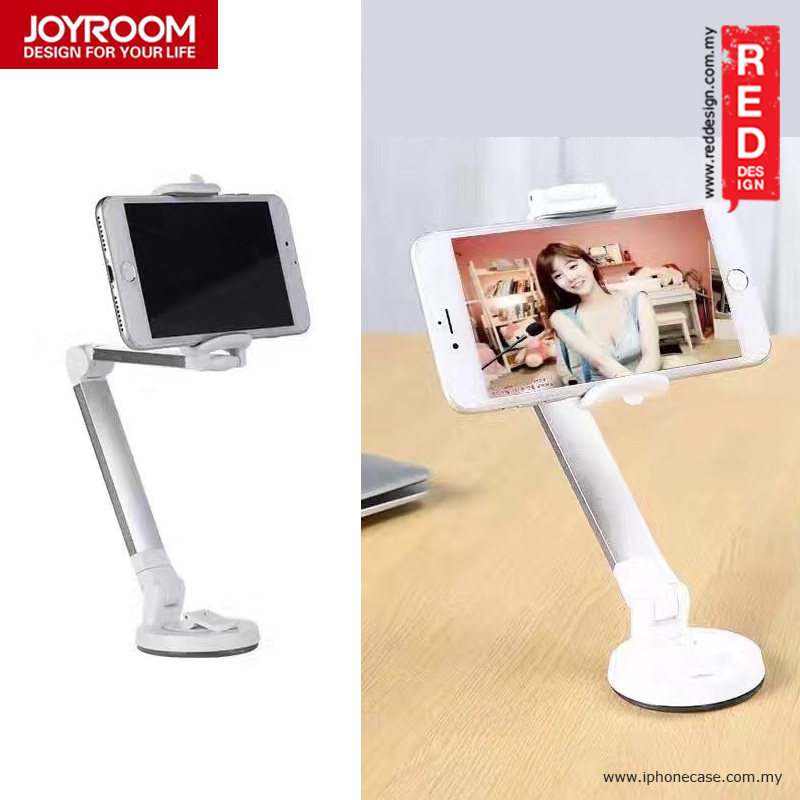 Picture of Joyroom Aluminum and ABS Desktop Folded Bracket Smartphone Stand - White