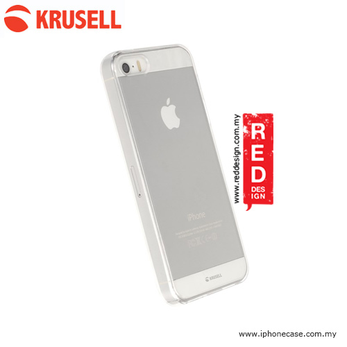 info for b8983 8fad4 Krusell Kivik Cover Soft Cover Case for iPhone SE iPhone 5S iPhone 5 - Clear