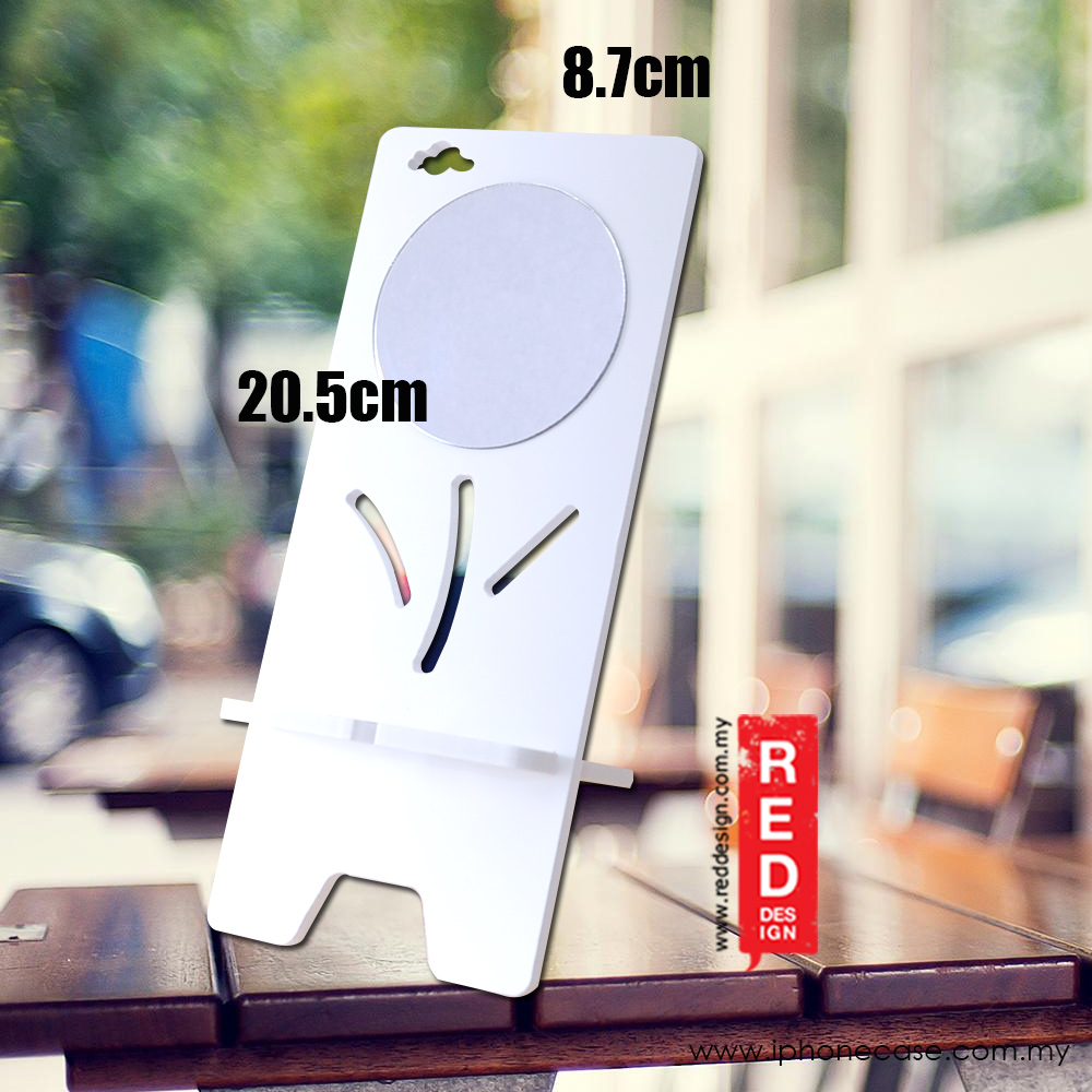 Picture of Plastic Wood Mobile Phone Lazy Tablet iPad Shelf Creative Desktop Mobile Phone Holder (Mirror)