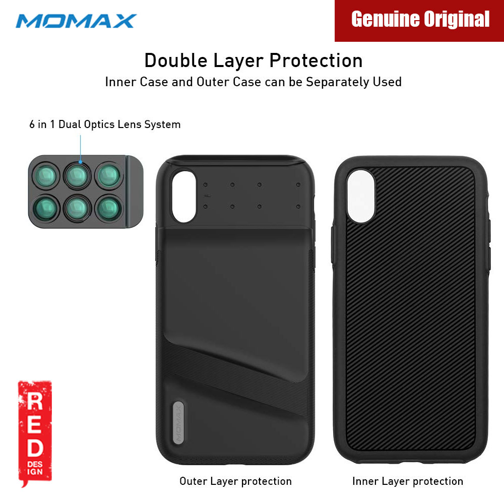 Picture of Apple iPhone XS Max    Momax 6 in 1 Camera Lens designed exclusively for iPhone XS Max