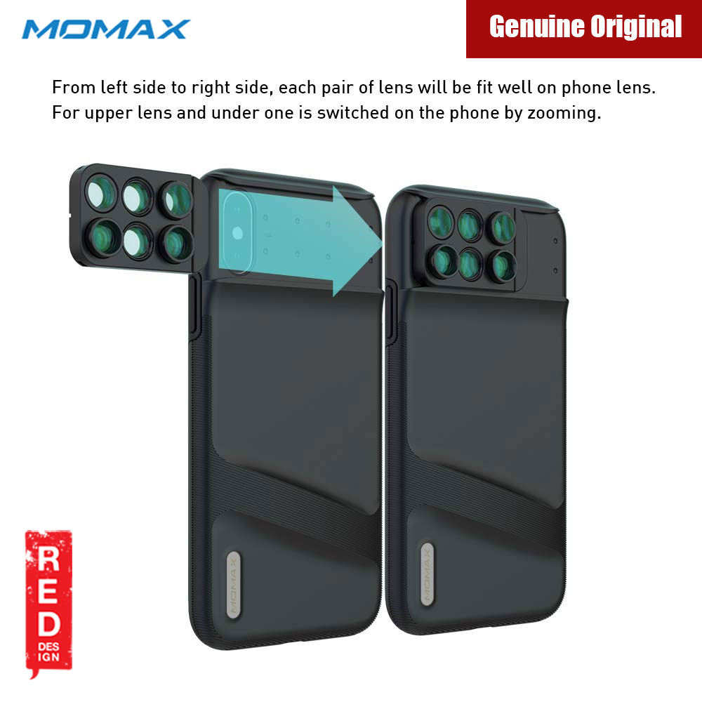Picture of Apple iPhone XS Max  | Momax 6 in 1 Camera Lens designed exclusively for iPhone XS Max