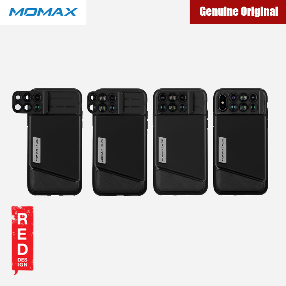 Picture of Apple iPhone X  | Momax 6 in 1 Camera Lens designed exclusively for iPhone X