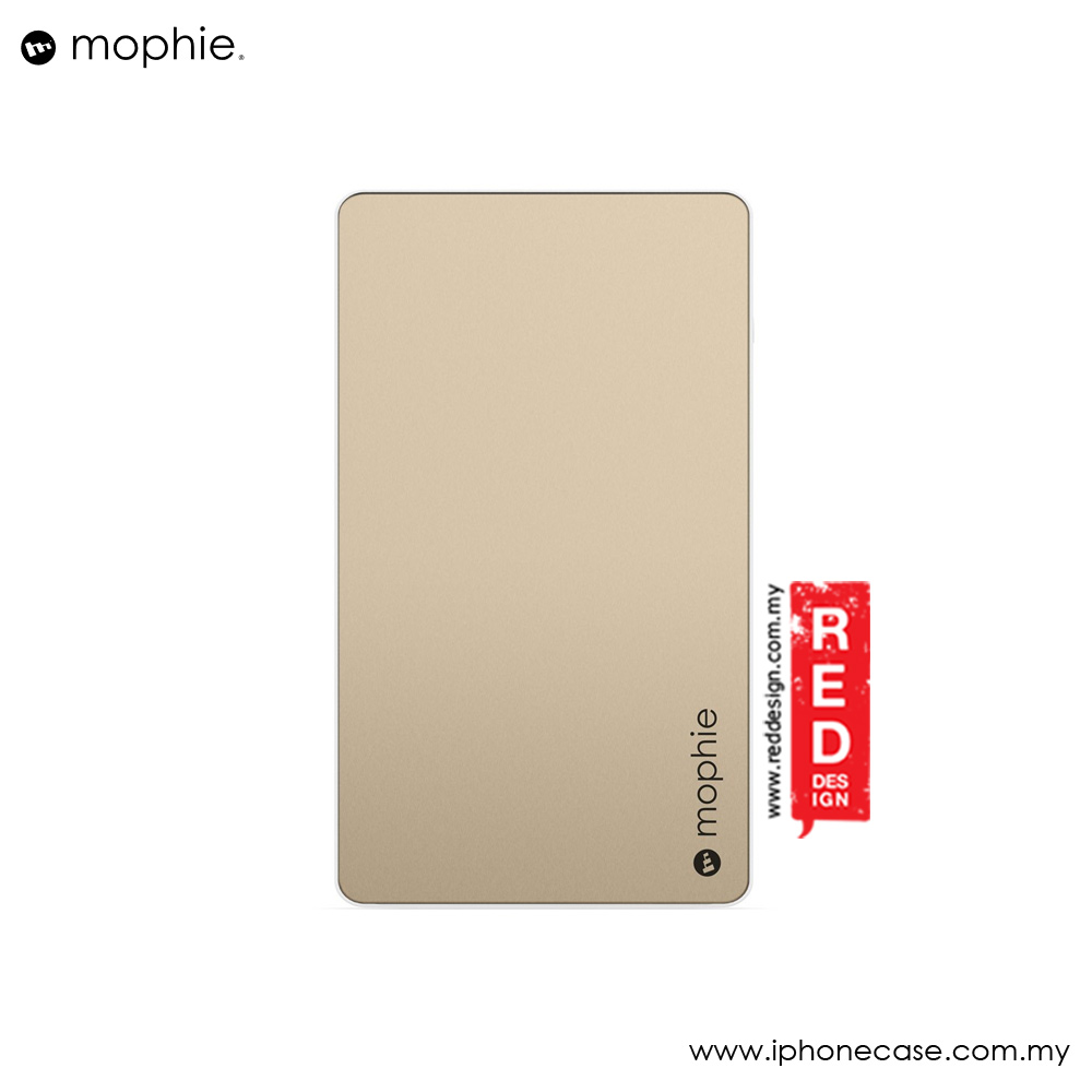 Picture of Mophie Powerstation Power Bank for Smartphones Tablets and USB Devices (6000mAh Gold)