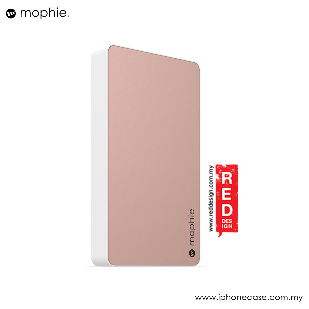 Picture of Mophie Powerstation Power Bank for Smartphones Tablets and USB Devices (6000mAh Rose Gold)
