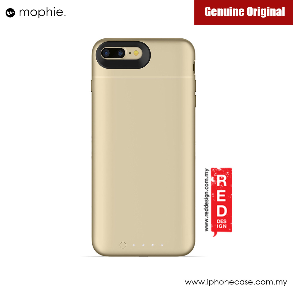 Picture of Apple iPhone 7 Plus 5.5 Case | Mophie Juice Pack Wireless Apple iPhone 7 Plus Battery Case 2,420mAh (Gold)
