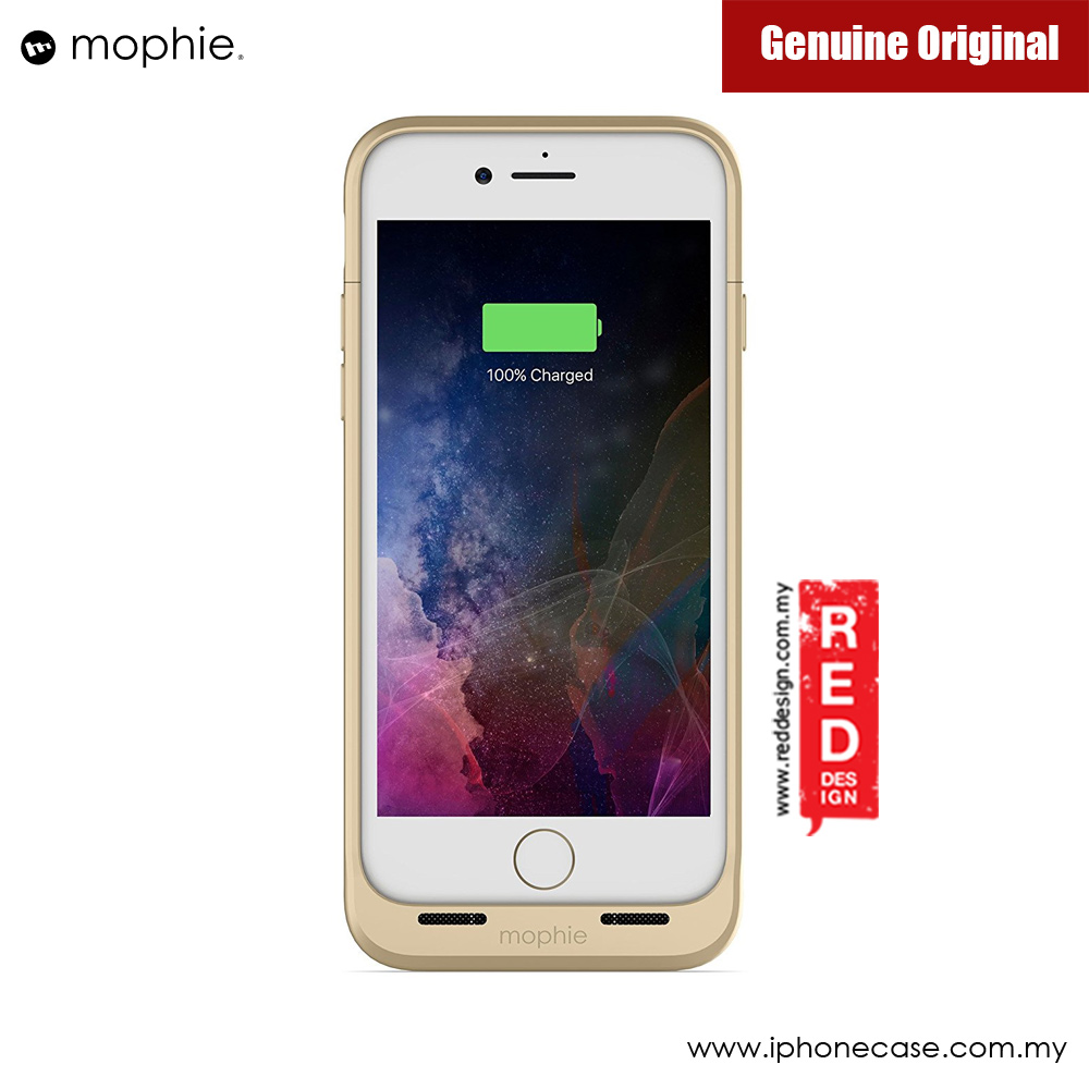 Picture of Apple iPhone 7 4.7 Case | Mophie Juice Pack Wireless Apple iPhone 7 4.7 Battery Case 2,525mAh (Gold)