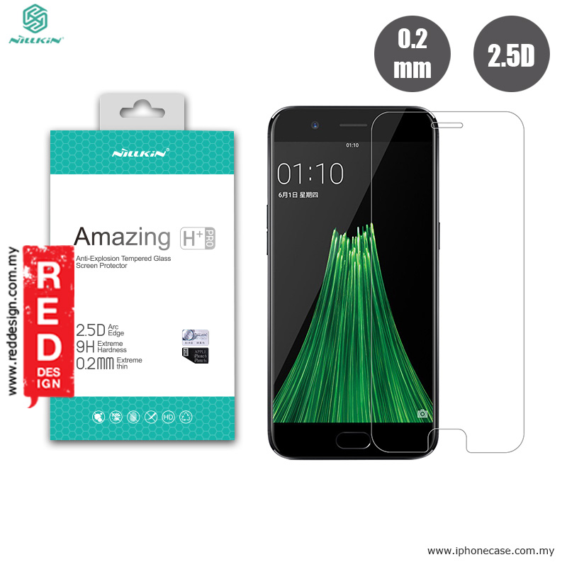 Picture of OPPO R11 | Nillkin Amazing H Plus Pro Tempered Glass for Oppo R11 -