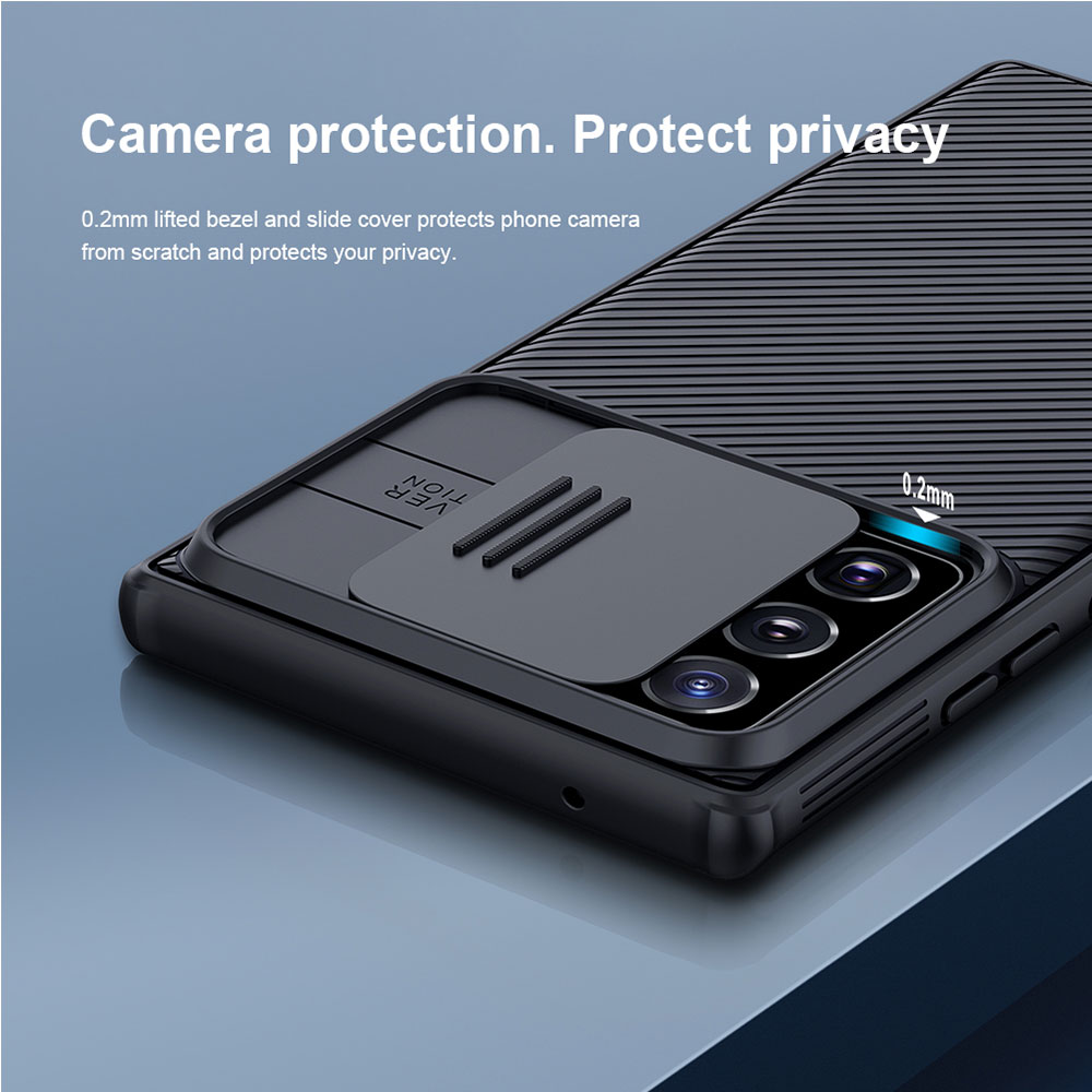 Picture of Samsung Galaxy Note 20 Ultra Case | Nillkin Camshield Pro Protection Case Camera Protection Case Anti fingerprint Non Slip Case for Samsung Galaxy Note 20 Ultra 6.9