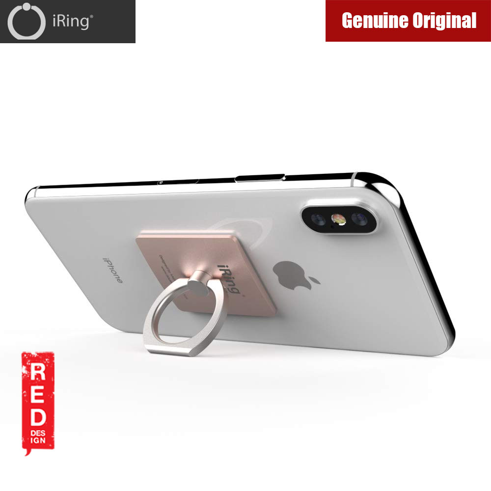 Picture of AAUXX iRing Link Universal Phone Grip and Stand Compatible with wireless charging (Rose Gold)
