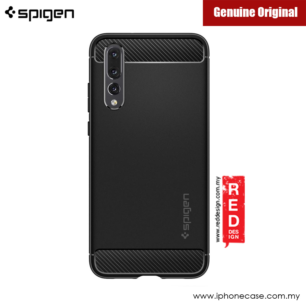 quality design be140 917d9 Spigen Rugged Armor Protection Case for Huawei P20 Pro (Black)