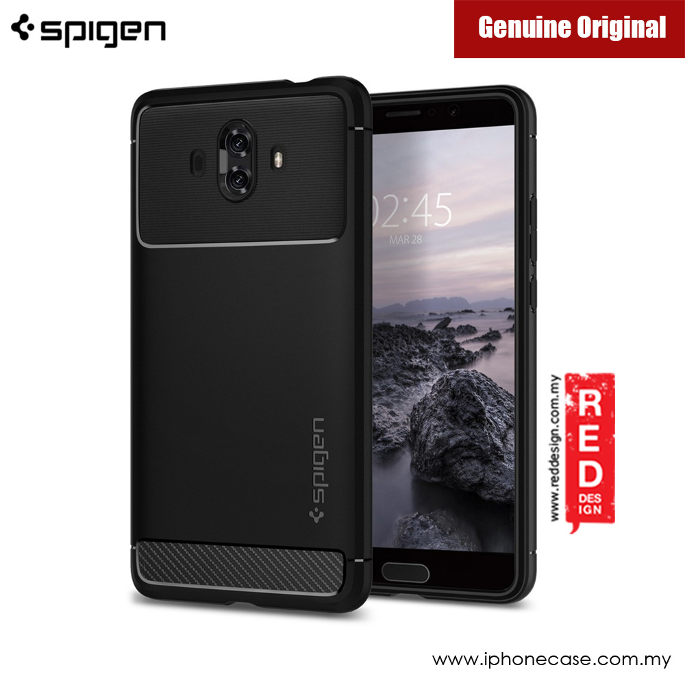 Picture of Huawei Mate 10 Case | Spigen Rugged Armor Protection Case for Huawei Mate 10 (Black)
