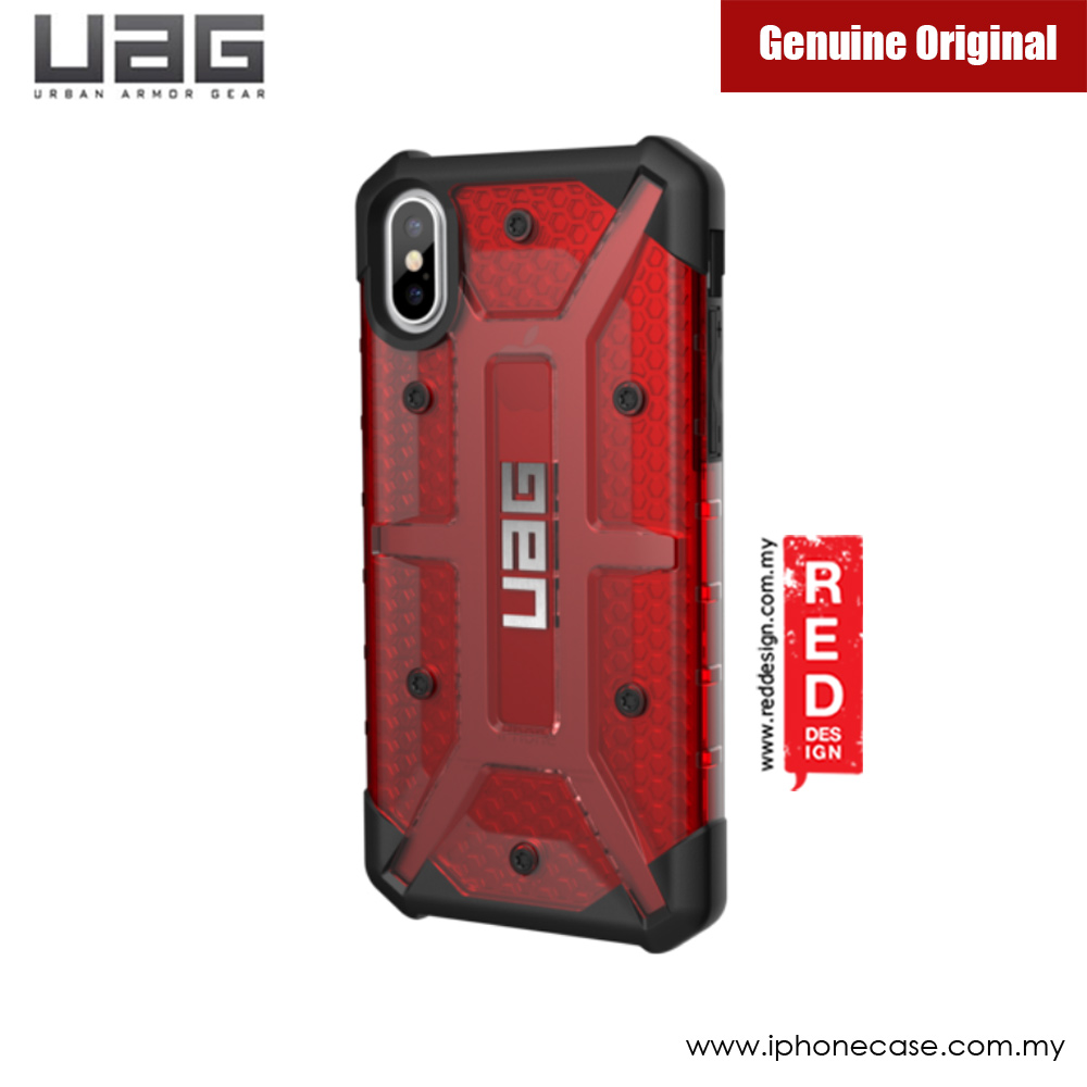 pretty nice 9d9e4 93341 UAG Plasma Series Case for Apple iPhone X iPhone XS (Magma Red)