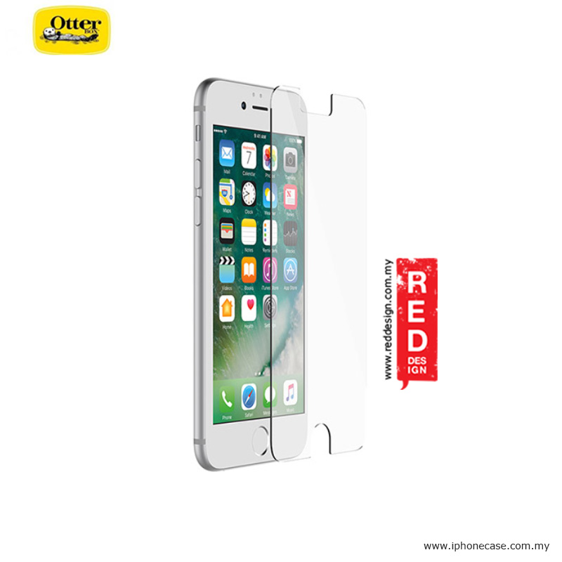 hot sale online 7d059 4f739 Otterbox Alpha Glass Screen Protector for Apple iPhone 7 Plus iPhone 8 Plus  5.5 - Clear