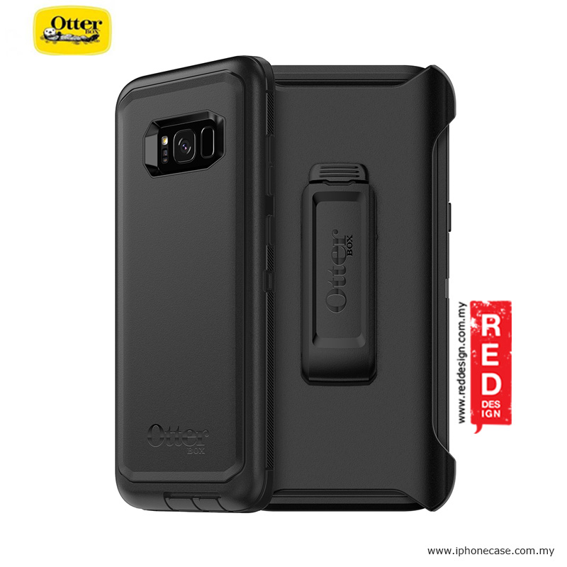 best service 52122 bd2c9 Otterbox Defender Series Protection Case for Samsung Galaxy S8 Plus - Black