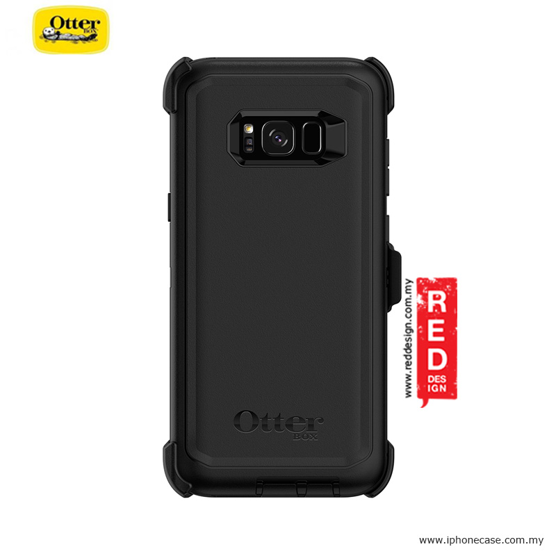 best service e6fa0 102db Otterbox Defender Series Protection Case for Samsung Galaxy S8 Plus - Black