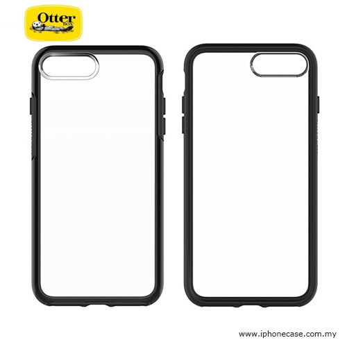 quality design f6438 9ba5b Otterbox Symmetry Series Protection Clear Case for Apple iPhone 7 Plus  iPhone 8 Plus 5.5 - Black Crystal