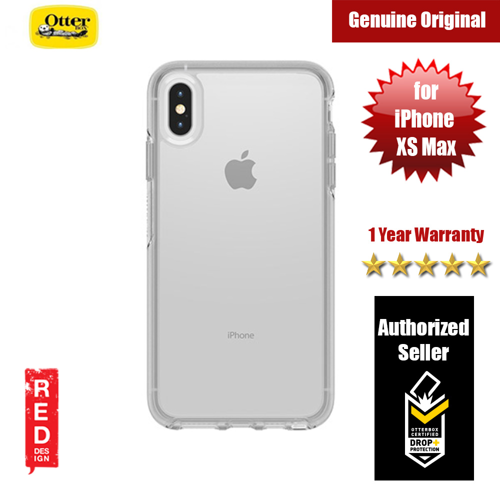 san francisco 4c7b3 97819 Otterbox Symmetry Series Clear Case for iPhone Xs Max (Clear)