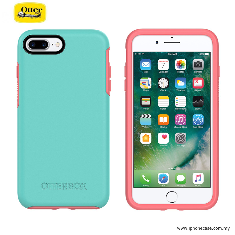 the best attitude 32675 cb0f1 Otterbox Symmetry Series Protection Case for Apple iPhone 7 Plus iPhone 8  Plus 5.5 - Candy Shop