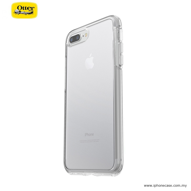 separation shoes 72d00 26dbe Otterbox Symmetry Series Protection Clear Case for Apple iPhone 7 Plus  iPhone 8 Plus 5.5 - Clear