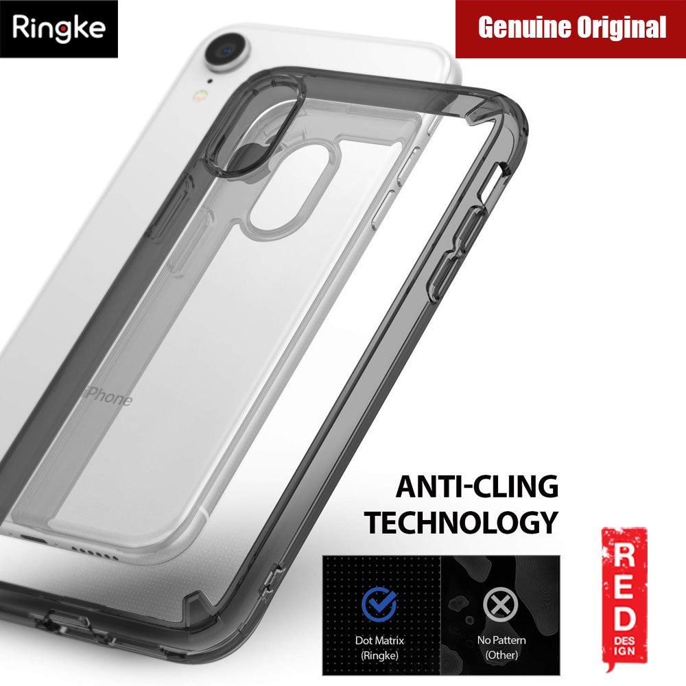 the best attitude 2c01c 8e787 Ringke Fusion Extreme Tough Protection for Apple iPhone XR (Smoke Black)