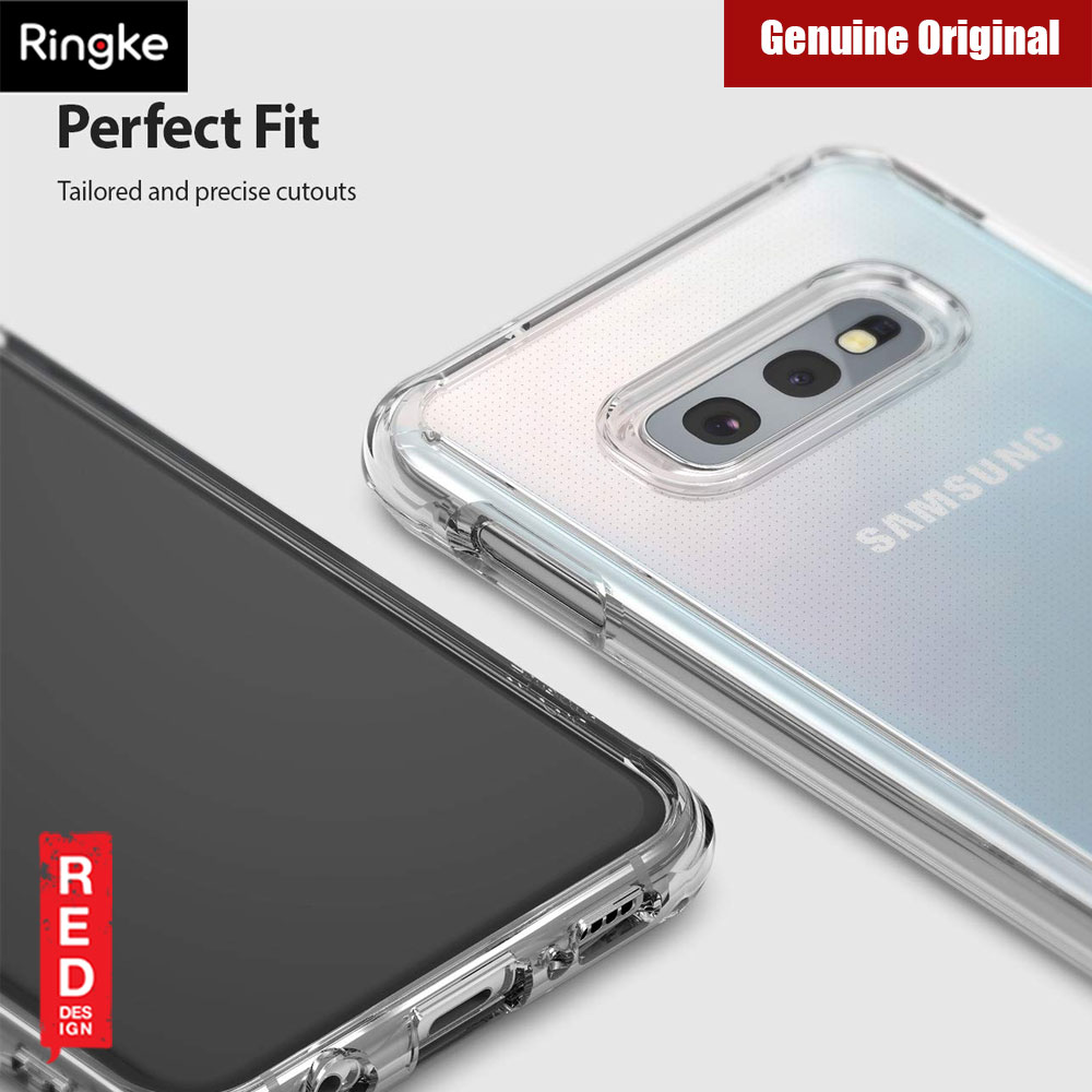 Picture of Samsung Galaxy S10e Case | Ringke Fusion Drop Protection Case for Samsung Galaxy S10e (Crystal Clear)