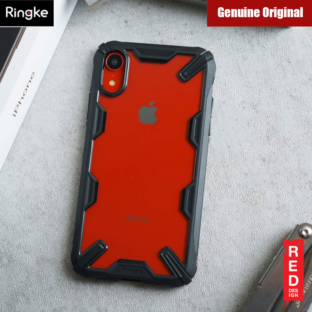 separation shoes 74499 72b91 Ringke Fusion X Extreme Tough Protection Case for Apple iPhone XR (Black)