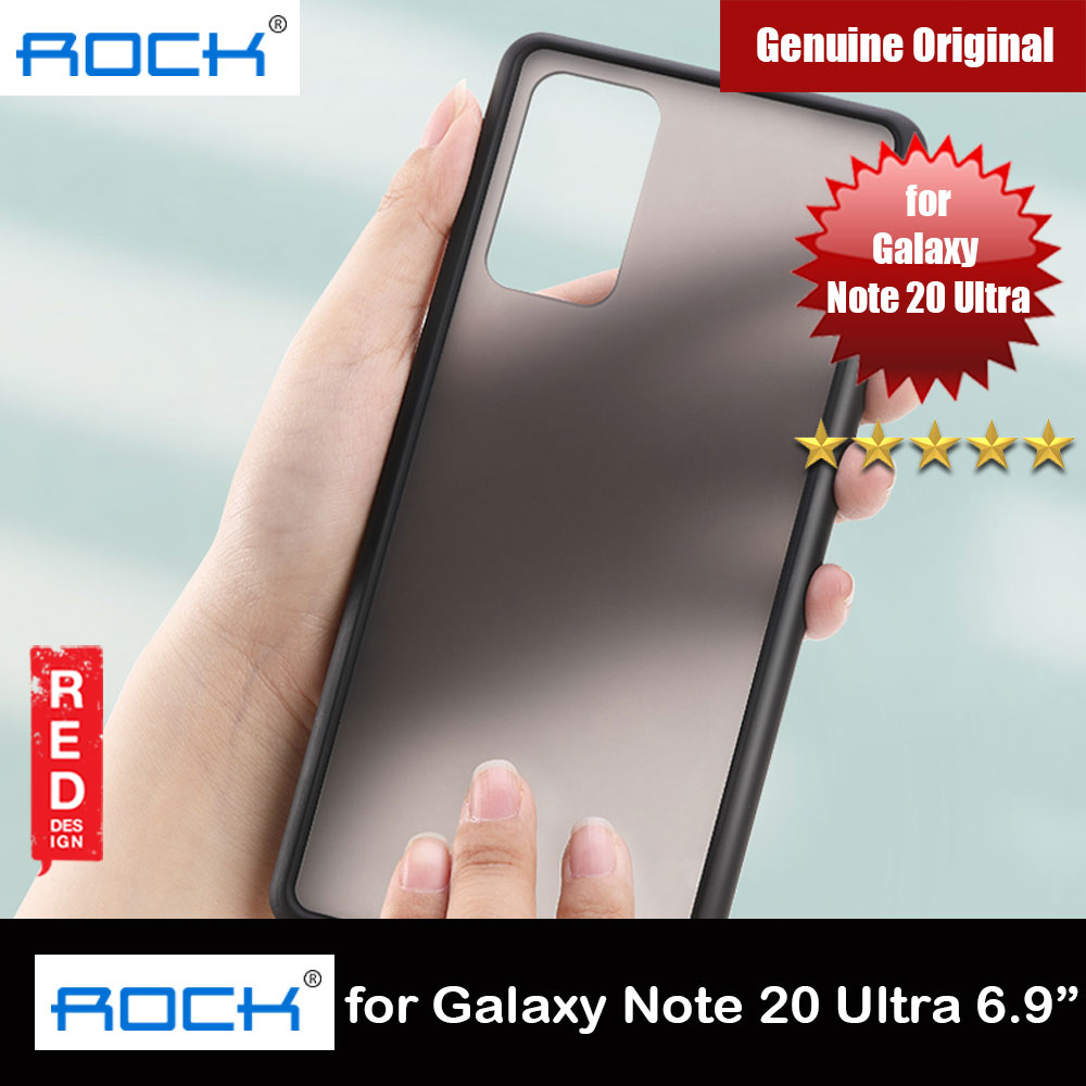 Picture of Samsung Galaxy Note 20 Ultra Case   Rock Guard Pro Series Drop Protection Case for Samsung Galaxy Note 20 Ultra 6.9 (Matte Black)