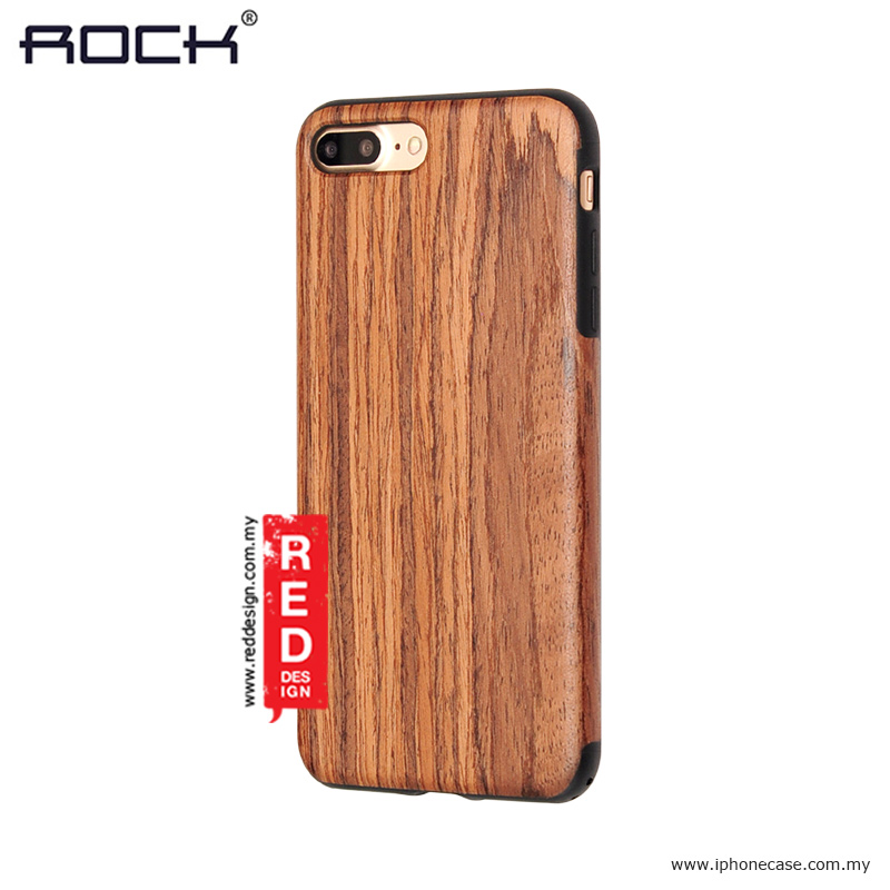 promo code 80d91 3aaa0 Rock Origin Series Wood Case for Apple iPhone 7 Plus iPhone 8 Plus 5.5 -  Rose Wood