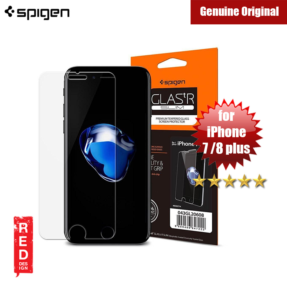 huge selection of f8a5b 81799 Spigen Glas tR Slim 0.33 mm iPhone 7 Plus Screen Protector with Tempered  Glass 1 Pack for iPhone 7 Plus